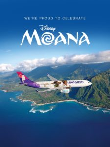 Hawaiian Airlines and Disney's Moana